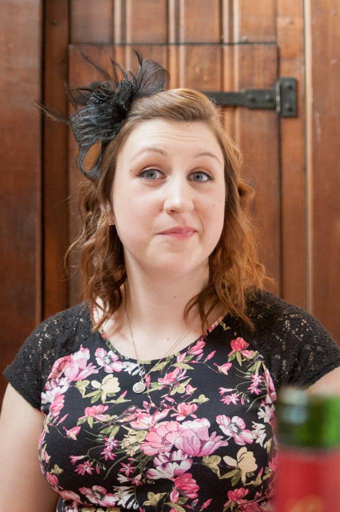 Hertfordshire Wedding Photographer - wedding guest portrait