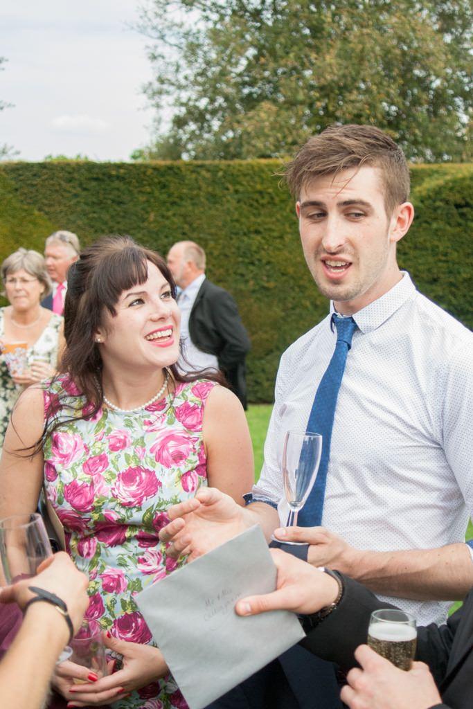 Hertfordshire Wedding Photographer - wedding guests portrait