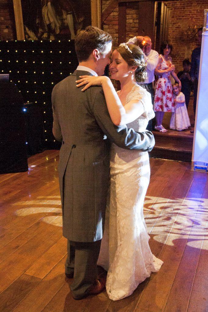 Hertfordshire Wedding Photographer - bride and groom first dance