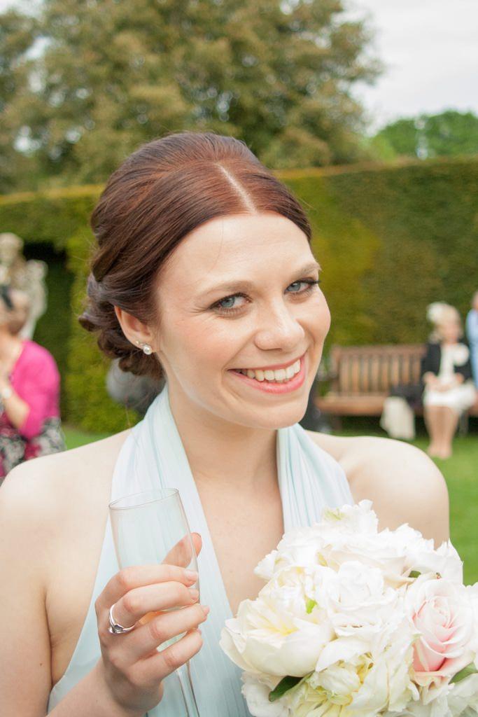 Hertfordshire Wedding Photographer - bridesmaid portrait