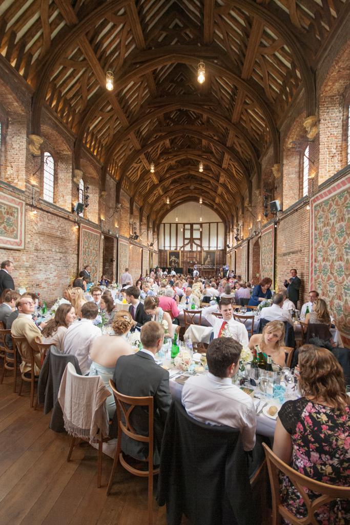 Hertfordshire Wedding Photographer - Hatfield House Hall inside