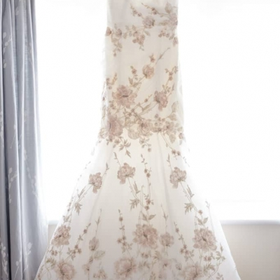 Norfolk wedding photographer – wedding dress