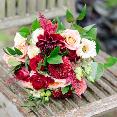 Norfolk wedding photographer – bridal bouquet