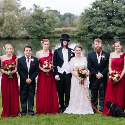 Norfolk wedding photographer – bridal party
