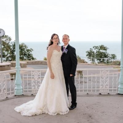 Norfolk wedding photographer – folkestone bride and groom