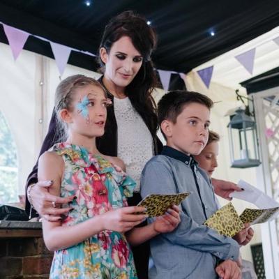 Norfolk wedding photographer – wedding speech kids