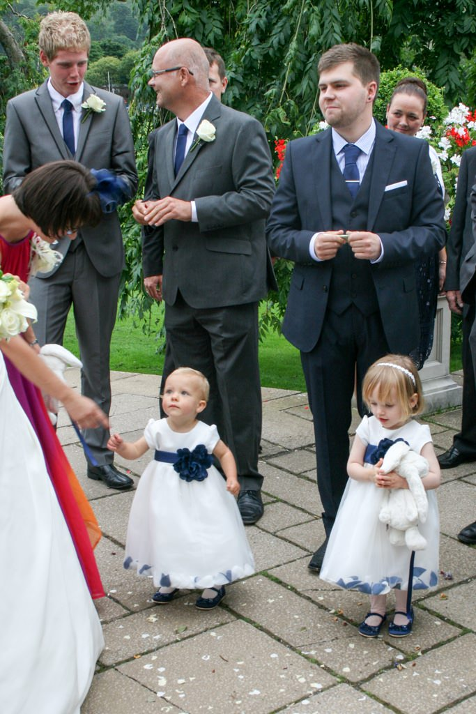 Cumbria Wedding Photographer - flower girls