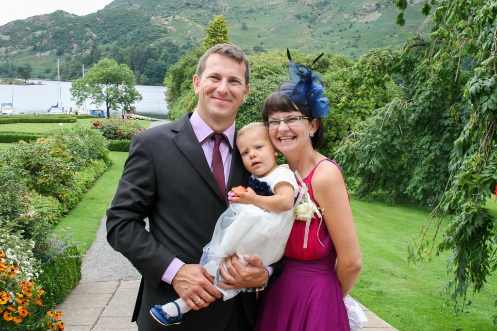 Cumbria Wedding Photographer - Cumbria family portrait