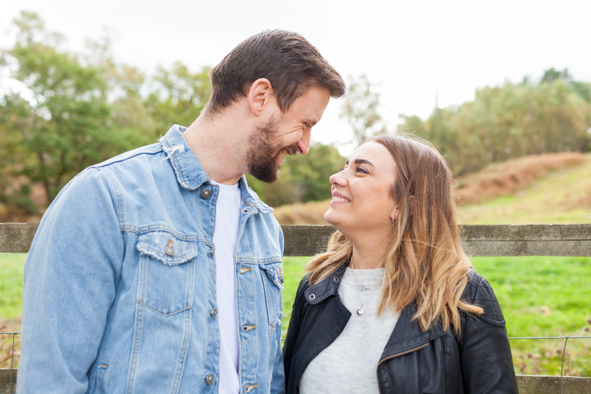 Farnham Engagement – Hankley Common, Imogen and James