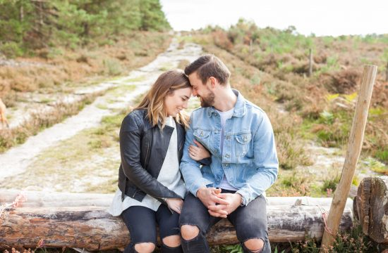 Farnham Engagement – Hankley Common, Imogen and James
